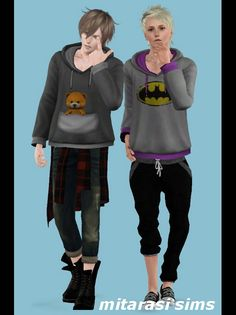 Hoodie for males by Mitarasi - Sims 3 Downloads CC Caboodle