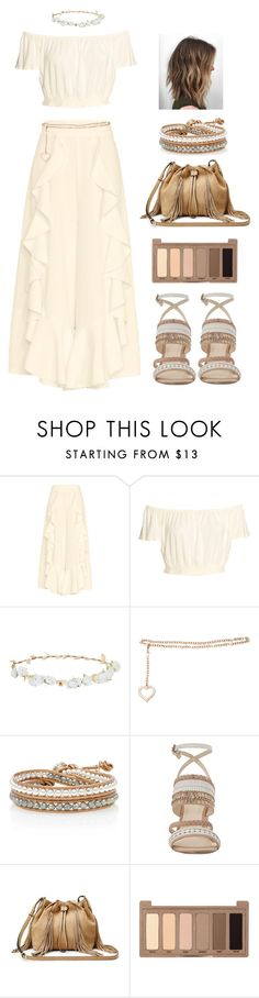 """""""Au Natural"""" by boho-betty-usa ❤ liked on Polyvore featuring Alice McCall, Robert Rose, Alessandra Rich, Nine West, Diane Von Furstenberg, Urban Decay and lovebohobetty"""