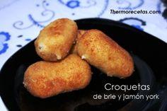 Croquetas de Brie y Jamón Thermomix