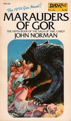 FRANK KELLY FREAS - art for Marauders of Gor by John Norman - 1975 DAW Books