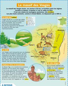 GEO: Le massif des Vosges