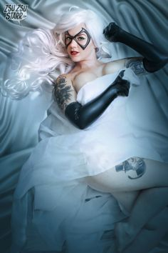 Black Cat Boudoir Photoshoot http://geekxgirls.com/article.php?ID=4127