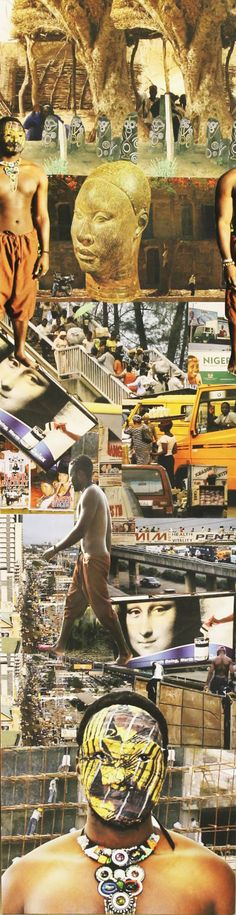 Tunji Adeniyi-Jones - Pillars, photo collage on plywood Collage, Plywood, Movies, Movie Posters, Random, Art, Hardwood Plywood, Art Background, Collages