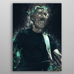 Roger Caricature by Abraham Szomor | metal posters - Displate