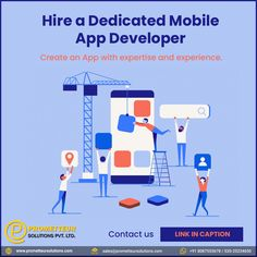 Hire a Dedicated Mobile App Developer from Prometteur Solutions to generate maximum return on your IT investments and capitalize on increased sales opportunities. . #mobileappdevelopment #appdevelopment #prometteursolutions #thursdaytips #mobileapp #mobileapps #android #ios #mobileappdesign #webdevelopment #mobileappdevelopmentcompany #mobileapplication #appdesign #webdesign #app #appdeveloper #iosappdevelopment #androidappdevelopment Web Application Development, Mobile App Development Companies, Mobile Application, Web Development, Mobile App Design, Seo Company, Free Quotes, Ios, Investing