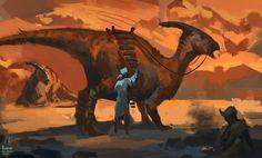 Dino Rider 2 by Raph04art.deviantart.com on @deviantART