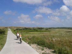 We hebben 140km fietspad, kilometers peddelen over Texel.