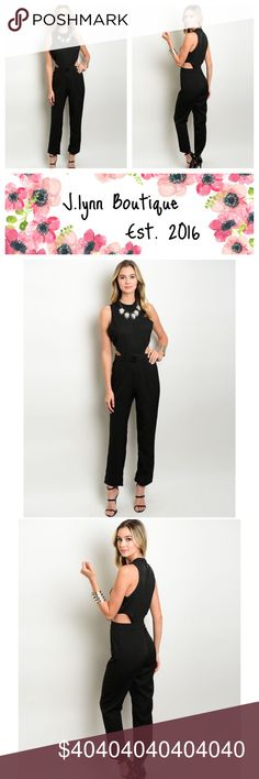 COMING SOON  coming soon to J.lynn boutique  New black romper coming soon to J.lynn boutique! This romper will be here in the next few weeks!  Sizes available  -small -medium -large Price $40  As always:  -25% off bundles of 2 or more items  -offers will be considered with the offer button  ✔️ like this listing to get notified when arrived✔️ Pants Jumpsuits & Rompers