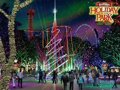 Celebrate the holidays at Six Flags Magic Mountain's Holiday in the Park Nov. 28th – Jan. 4th.  Get into the holiday spirit with carolers performing classic yuletide favorites, personalized meet-and-greets with Santa and his helpers and of course, thrilling rides!