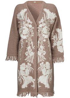 Gustav Cardigan 24403 Embroidery Cardigan - pine bark