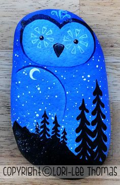 Painted Rocks - Lori-Lee Thomas - Fine Art & Illustration