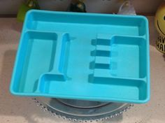 Turquoise Lustro-Ware flatware / silverware by LivingWellVintage