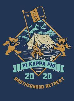 Pi Kappa Phi Letter Fraternity Cufflinks Pi Kapp