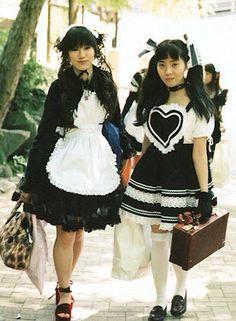 Okd school lolita fashion