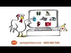 Spring Chicken Advert 2015