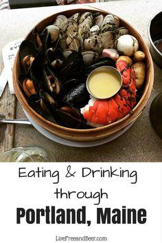 Food and Bar Crawl Through Portland, Maine - Live Free & Beer