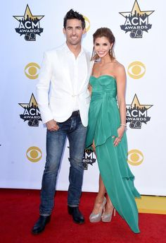 Pin for Later: The 50th ACM Awards Bring Out Country Stars, Hot Couples, and Even Sofia Vergara! Jake Owen and Lacey Buchanan