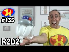 R2D2 - Balloon Animal Lessons # 135 - YouTube