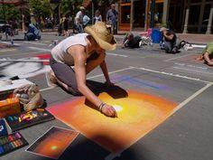 Denver Chalk Art Festival #DenverHeartsTheArts
