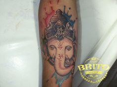 #Britotattoo #tattoo #tatuagem #tattooaquarela #aquarela #tatuagemcolorida #elefante #tattoodeelefante #ink