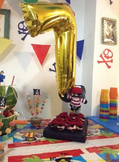 Fiesta pirata. Souvenir crochet