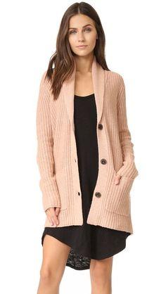 ATM ANTHONY THOMAS MELILLO Shawl Collar Sweater Coat. #atmanthonythomasmelillo #cloth #dress #top #shirt #sweater #skirt #beachwear #activewear