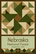 Nebraska National Forest Quilt Block