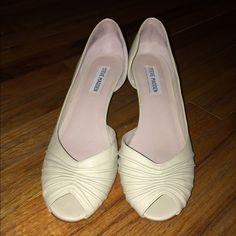 Steve Madden Shoes Steve Madden low heel peep-toe shoes Steve Madden Shoes Heels
