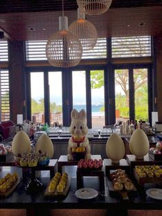 What a perfect day of the year when no one judges you for eating #chocolates and #sweets ! #HappyEaster ! May you and you loved ones be blessed with #peace, #passion and #love. #easter  #parkhyatt | Park Hyatt Sanya Sunny Bay Resort | Terrace | Afternoon Tea | Sanya | China