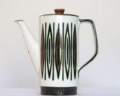 Koffiepot keramiek #retro #ceramic #tableware