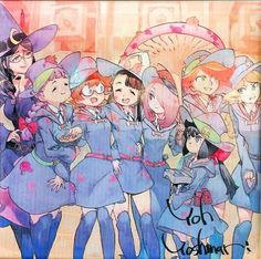 LWA - Luna Nova's Generation if Witches