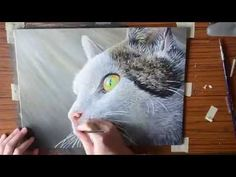 http://www.powertopaint.com - Learn to paint realistic fur with the art instruction DVD by artist Derek C Wicks. View the instructors website at http://derek...