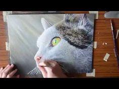 "Beautiful Bengal Cat ""Loki"" - Pastel Drawing | Speed Art Painting - YouTube"