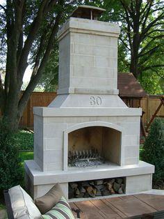 Stone Age Manufacturing Standard Fireplace · Outdoor Fireplace KitsBackyard  ...