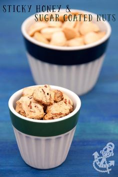Sticky Honey & Sugar Coated Roasted Almonds & Pecans