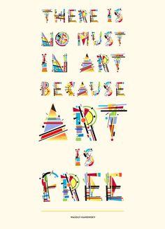 Kandinsky Type by Tano Veron, via Behance Wassily Kandinsky, Icon Design, Design Art, Graphic Design, Different Lettering, Geometric Font, Alphabet, Party Fiesta, Tangle Art