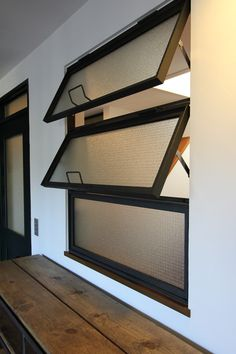 WINDOW/窓/アイアン/チェッカーガラス/フィールドガレージ/FieldGarage INC./リノベーション House Design, My Ideal Home, Windows And Doors, Casement Windows, New Homes, Window Design, Indoor Window, Small House Exteriors, Window Shutter Blinds
