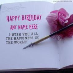 Beautiful Birthday Quotes Wishes With Name Happy Card