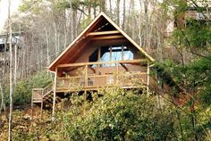 Sweet Seclusion - This beautiful Smoky Mountain 1 bedroom cabin is pet friendly! http://americanmountainrentals.com/cabin-detail/?cid=7