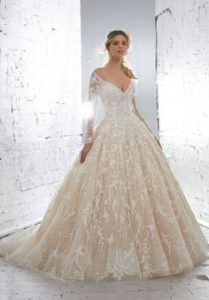 Wonderful Perfect Wedding Dress For The Bride Ideas. Ineffable Perfect Wedding Dress For The Bride Ideas. Bridal Wedding Dresses, Wedding Dress Styles, Dream Wedding Dresses, Wedding Ceremony, Wedding Dress Petite, Mori Lee Wedding Dress, Tulle Wedding, Tulle Ball Gown, Ball Gowns