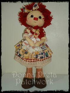 Boneca  Raggedy Annie