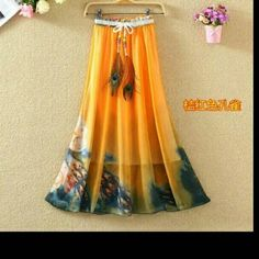Shiffon skirt For more details what's app on 8879716955
