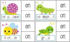 Read In French, Preschool Education, Study Skills, Sons, Alphabet, Kindergarten, Teaching, Activities, Math