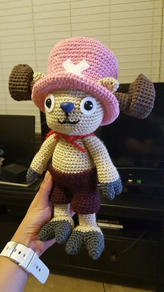 Tony Tony Chopper - One piece pattern by Anna Carax