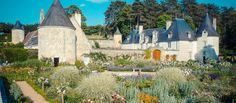 Hidden away in a secluded valley crowned by 18 acres of flowering cornflowers and poppies and with sweeping views across the forest of Chinon and the river Indre, the twelve remarkable gardens of La Chatonniere are a carefully guarded secret.