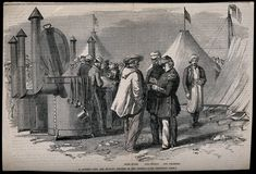 Crimean War: A. Irish Famine, Wellcome Collection, Crimean War, Wood Engraving, British Army, Abs, Victorian, Camping, Kitchen Tips