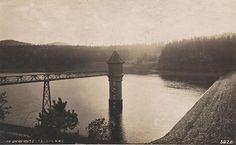 Oberkreibitz - Talsperre / vodní nádrž Chřibská