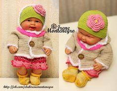 Dolls Clothes Knitting croсhet , одежда для кукол ручной работы , спицами , крючком
