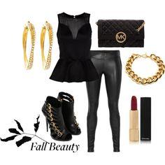"""Fun Fall Night""  #clubbing #outfit"
