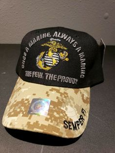 49f62e50 USA USMC MARINE CORPS MARINES CAP / HAT - CAMO Cap Hat new officially  licensed #fashion #clothing #shoes #accessories #mensaccessories #hats (ebay  link)